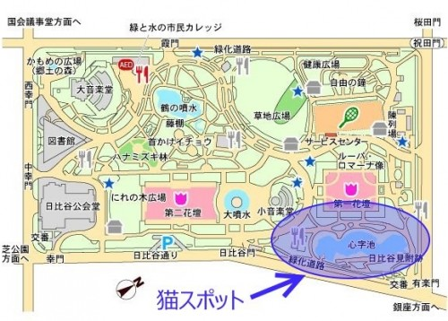 hibiya-park-map